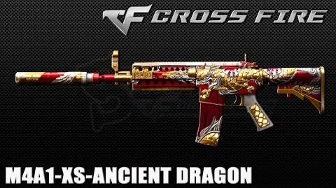 CrossFire Vietnam- M4A1-XS-Ancient Dragon ☆