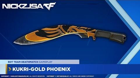 Kukri-Gold Phoenix CROSSFIRE China 2