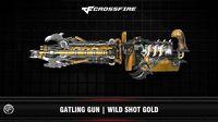 CF Gatling Gun Wild Shot Gold (Upgrade)