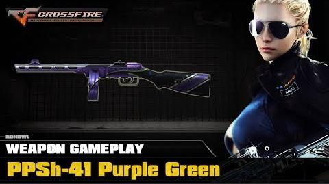 CrossFire VN - PPSh-41 Purple Green