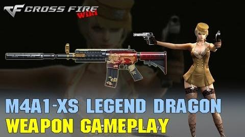 CrossFire - M4A1-XS Legend Dragon - Weapon Gameplay