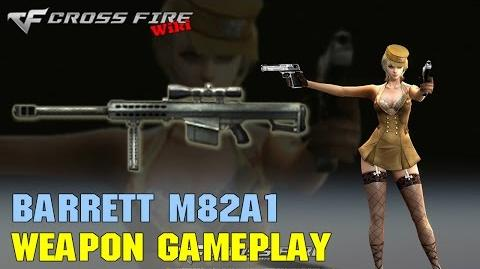CrossFire - Barrett M82A1 - Weapon Gameplay
