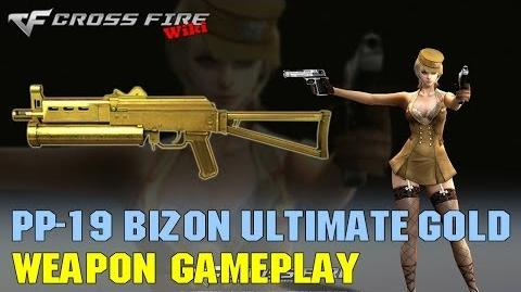 CrossFire - PP-19 Bizon Ultimate Gold - Weapon Gameplay