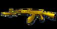 AK Knife Gold