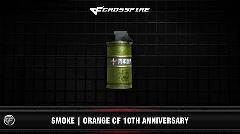 CF Smoke Orange CF 10th Anniversary