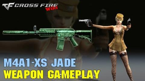 CrossFire - M4A1-XS Jade - Weapon Gameplay