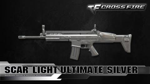 CrossFire Vietnam Scar Light-Ultimate Silver ☆-0