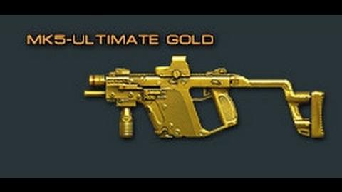 Cross Fire China Kriss Super V-Ultimate Gold (MK5-Ultimate Gold) Review !