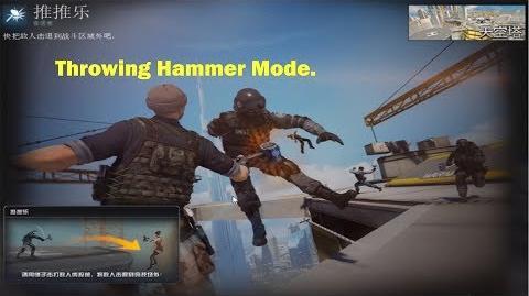 Trải Nghiệm CFQQ - Chế Độ Mới CFQQ Ném Búa Đẩy Người (Throwing Hammer Mode)