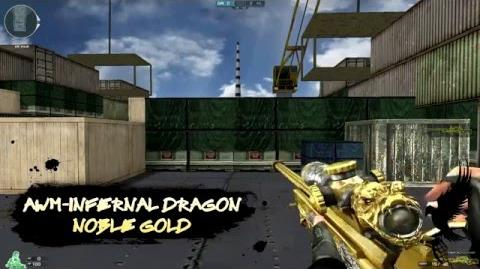 CrossFire AWM-Infernal Dragon Noble Gold Quick Review!