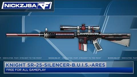 Knight SR-25-S-BUIS-Ares CROSSFIRE Indonesia 2