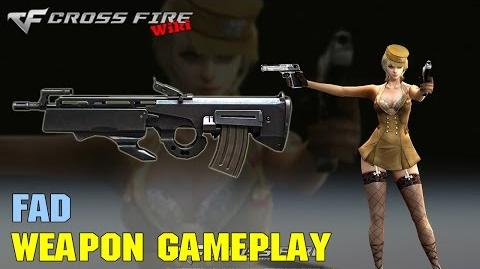 CrossFire - FAD - Weapon Gameplay