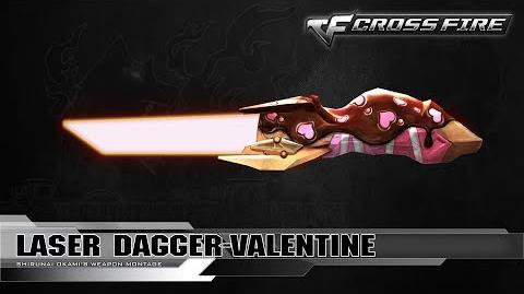 CrossFire Indonesia Laser Dagger-Valentine 2016 ☆