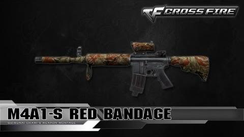 CrossFire Vietnam M4A1-S Red Bandage ☆