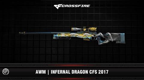 CF AWM Infernal Dragon CFS 2017