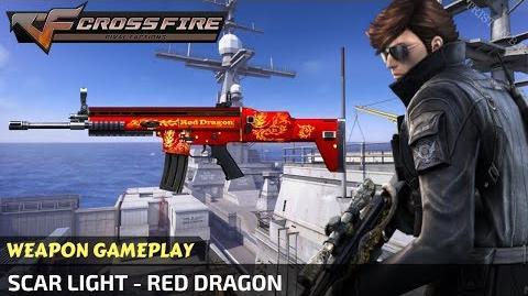 CrossFire Vietnam - Scar LIGHT - Red Dragon