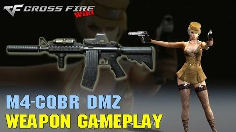 CrossFire - M4CQBR DMZ - Weapon Gameplay