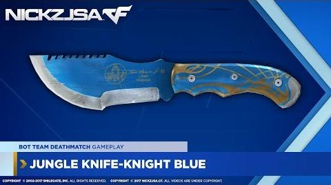 Jungle Knife-Knight Blue CROSSFIRE China 2.0