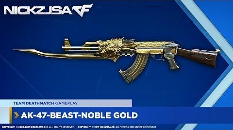 AK-47-Beast-Noble Gold CROSSFIRE Indonesia 2