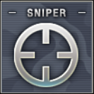 Sniper Badge Class A Level 1