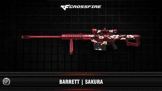 CF Barrett Sakura