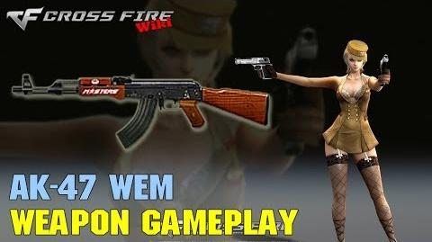 CrossFire - AK-47 WEM - Weapon Gameplay