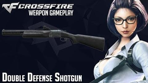 Crossfire Japan- Double Defense Shotgun gameplay
