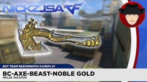 BC-Axe-Beast-Noble Gold CROSSFIRE China 2.0 EXP