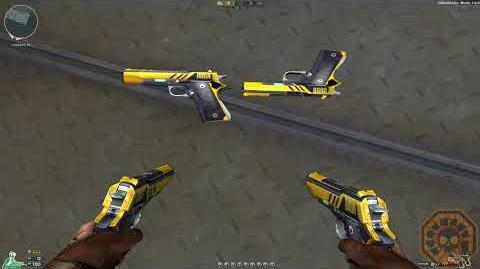 Cross Fire Brazil Dual Colt-Brass Black (Dual Colt-DZR) !