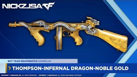 Thompson-Infernal Dragon-Noble Gold CROSSFIRE China 2