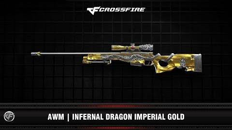 CF AWM Infernal Dragon Imperial Gold