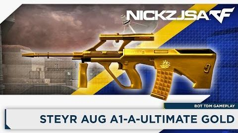 Steyr AUG A1-A-Ultimate Gold CROSSFIRE China 2