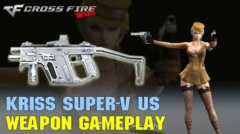 CrossFire - Kriss Super-V Ultimate Silver - Weapon Gameplay