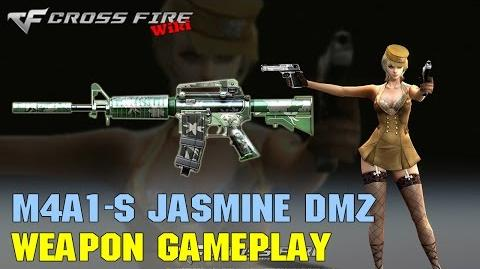 CrossFire - M4A1-S Jasmine DMZ - Weapon Gameplay