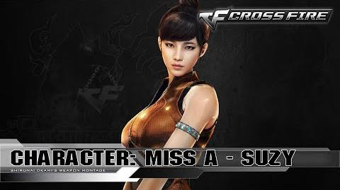 CrossFire Character SUZY - Miss A ☆