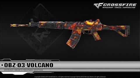 CrossFire China QBZ-03-Volcano