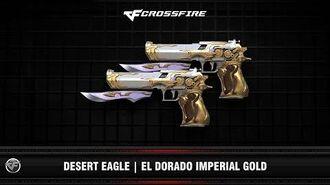 CF Desert Eagle El Dorado Imperial Gold