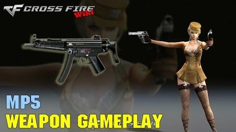CrossFire - MP5 - Weapon Gameplay