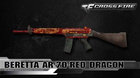 CrossFire China Beretta AR-70-Red Dragon ☆