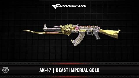 CF AK-47 Beast Imperial Gold-0
