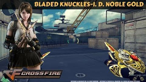 CrossFire Vietnam - Bladed Knuckles-Infernal Dragon Noble Gold