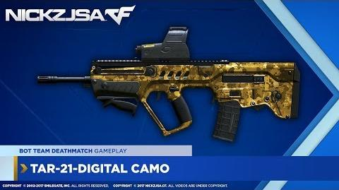 TAR-21-Digital Camo (Gold) CROSSFIRE China 2