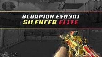 CFQQ Scorpion EVO3A1-Silencer Elite