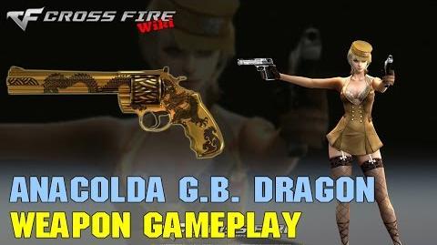 CrossFire - Anaconda Gold Black Dragon - Weapon Gameplay