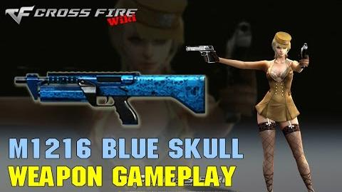 CrossFire - M1216 Blue Skull - Weapon Gameplay