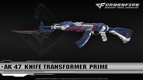 CrossFire China AK-47 Knife-Transformer Prime (VIP)