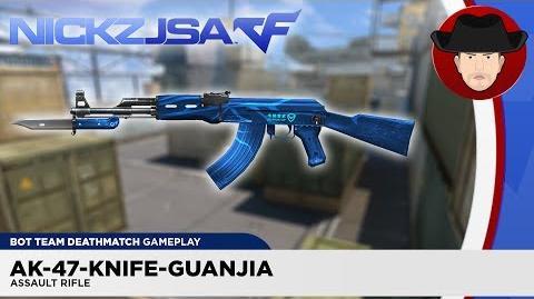 AK-47-Knife-Guanjia CROSSFIRE China 2.0