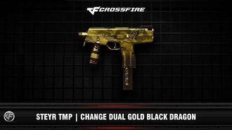 CF Steyr TMP Change Dual Gold Black Dragon