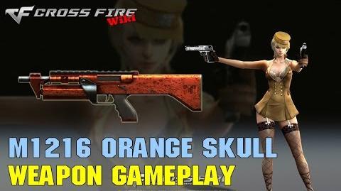 CrossFire - M1216 Orange Skull - Weapon Gameplay