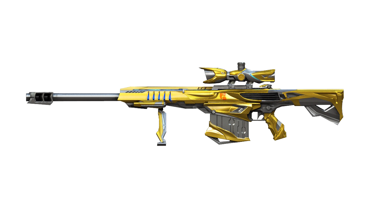 Barrett M82A1-Iron Shark Noble Gold | Crossfire Wiki | FANDOM powered by  Wikia